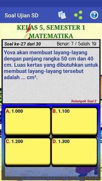 Soal Ujian SD screenshot 21