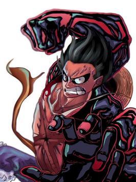 Luffy Gear 4 Wallpaper screenshot 5