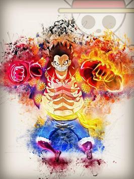 Luffy Gear 4 Wallpaper poster