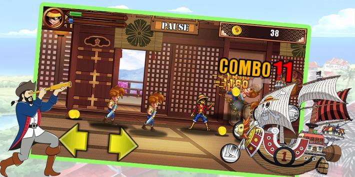 The Pirate king jamp Adventure apk screenshot
