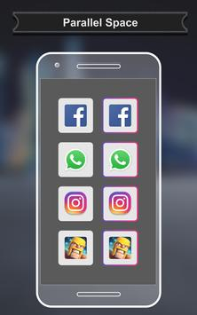 Parallel Space for WhatsApp - MultipleAccounts poster