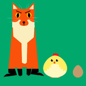Downhill Chicken Dash icon