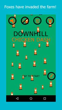 Downhill Chicken Dash poster