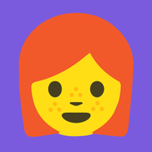 Redhead Emoji Stickers icon