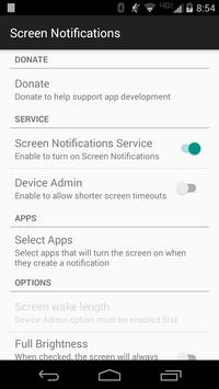 Screen Notifications poster