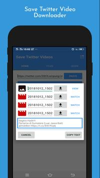 Save Twitter Video Downloader for Android - APK Download