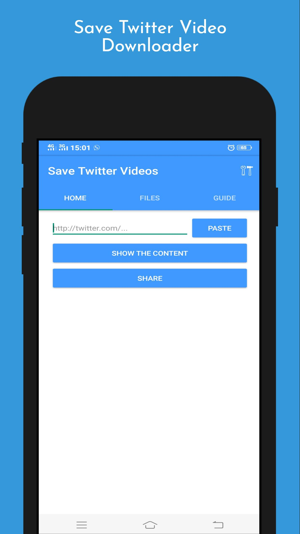 Save Twitter Video Downloader for Android   APK Download