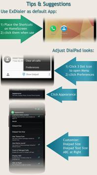 Dialer GlassMetalFrameBronze apk screenshot