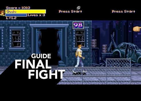 Free Final Fight Guide poster