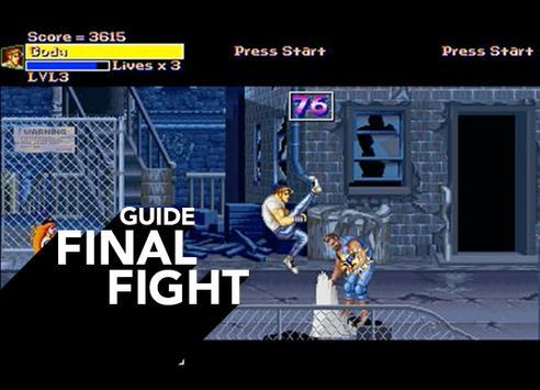 Free Final Fight Guide apk screenshot