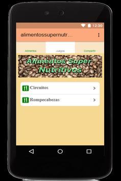 Super Alimentos Nutritivos y Saludables apk screenshot