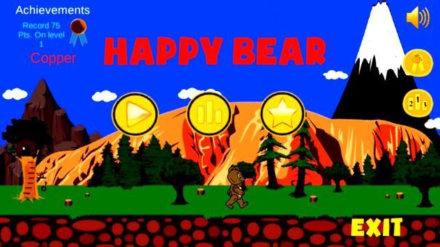 Filipo happy bear poster