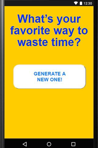 Random Questions Generator for Android - APK Download