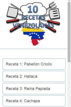 Recetas Venezolanas poster
