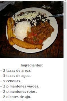 Recetas Venezolanas apk screenshot
