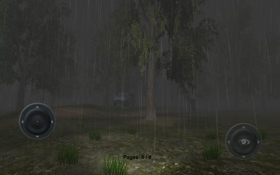 Slenderman Rainy Day poster