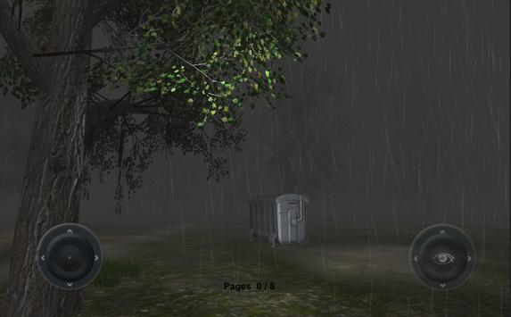 Slenderman Rainy Day apk screenshot