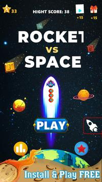 Rocket Vs Space-poster