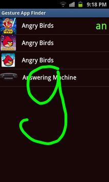 Gesture App Finder screenshot 1