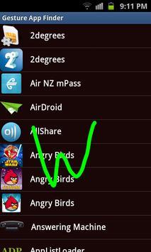 Gesture App Finder screenshot 2