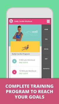 Daily Cardio Fitness Workouts Cartaz