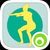 Squat Challenge 30 Day Workout أيقونة