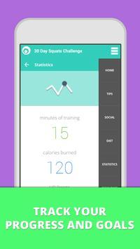 Squat Challenge 30 Day Workout تصوير الشاشة 4
