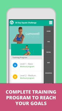 Squat Challenge 30 Day Workout الملصق