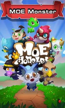 Moe Monster poster