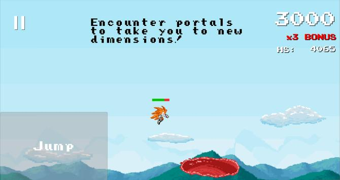 Schermata apk Dimension Dash -a Sonic runner