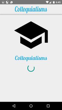 Colloquialisms poster