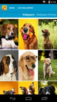 Cute Dogs Live Wallpapers apk screenshot