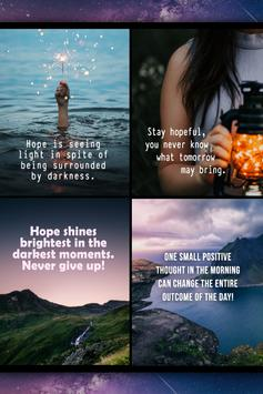 Hopeful Life Quotes poster