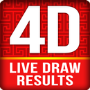 Live 4D Draw Results APK