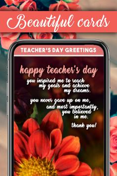 Teachers Day Greeting Cards poster