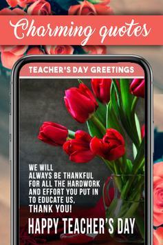 Teachers Day Greeting Cards screenshot 1