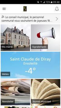 Saint Claude de Diray poster