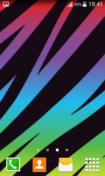 Neon Animal Print Wallpapers poster