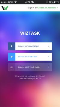 WizTask poster