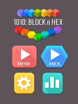 1010: Block & Hex poster