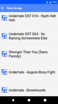 Sans songs lyrics for Android - APK Download