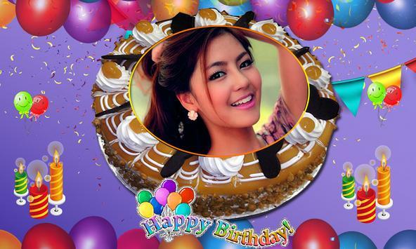 Name Photo on Birthday Cake – Love Frames Editor APK Download - Free ...