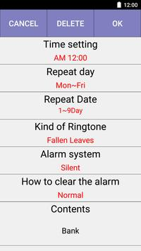 Lunar Alarm apk screenshot
