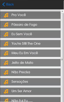 Paula Fernandes Letras screenshot 3