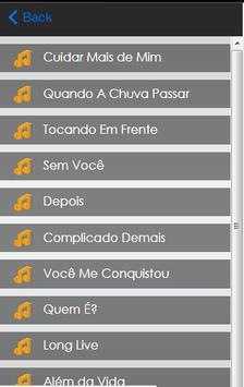 Paula Fernandes Letras screenshot 4