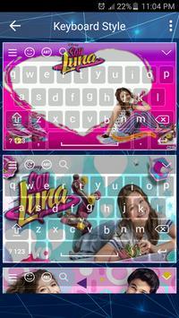 Keyboard For Soy Luna screenshot 2