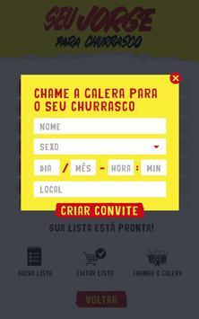 Seu Jorge para Churrasco screenshot 9