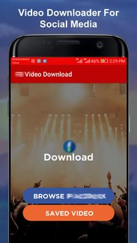 Video Downloader For Social Media screenshot 4