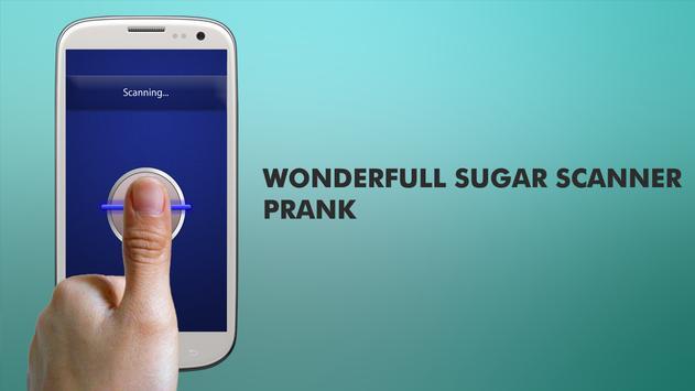 Fingerprint Sugar Meter Prank apk screenshot