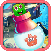 Shoot Bubble Candy Monster icon